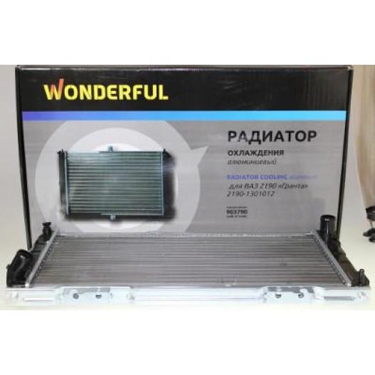 Радиатор охлаждения ВАЗ 2190 Гранта алюм 2190-1301012